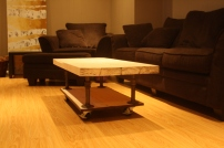 hardware coffee table